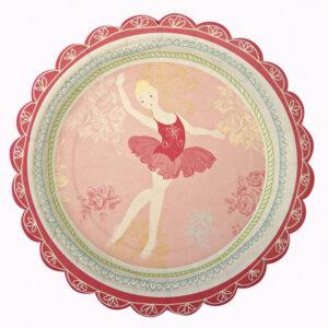 Little Dancers Πιάτα γλυκού 12τεμ.