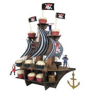 Ahou There Pirate Cupcake Stand / Κέντρο Τραπεζιού