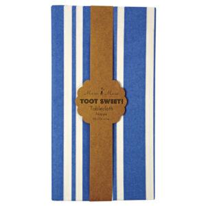 Toot Sweet Blue Stripe Τραπεζομάντηλο 2,59 Χ 1,37μ.