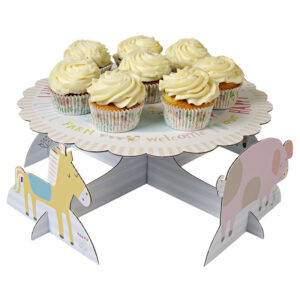 Cupcake stand ή cake stand Happy little farm 1 τεμ.