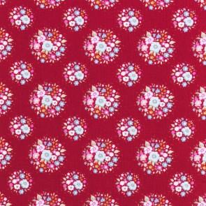 Tilda ύφασμα Thula Carmine Red 50x55εκ.