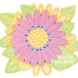 Προσκλητήρια Jumbo Special Splashy Flower