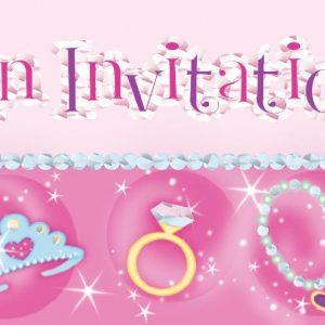 Προσκλήσεις Princess