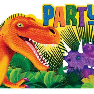 Προσκλήσεις Δεινόσαυροι 8τεμ.