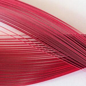 Χαρτολωρίδες Περλέ Κόκκινες 9 χιλ. Ήρα