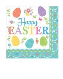 Χαρτοπετσέτες 2φυλλες 33x33εκ. Lovely Easter 16τεμ.