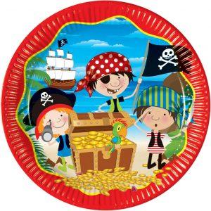 Πιάτα φαγητού Μικροί Πειρατές