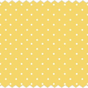 Tante Ema ύφασμα βαμβακερό Fruit Confetti yellow 50x65εκ.
