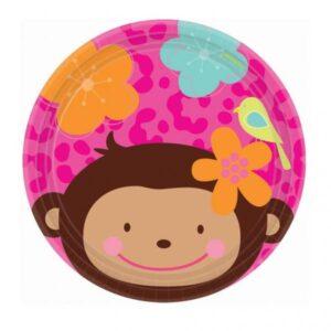 Πιάτα γλυκού 17,7εκ. Monkey Love