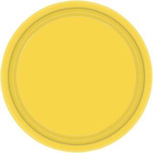 Πιάτα φαγητού 22,8εκ Yellow Sunshine