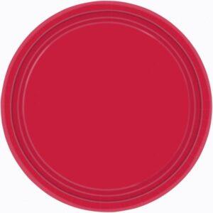 Πιάτα φαγητού 22,8εκ Apple Red