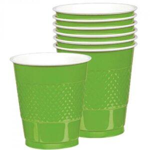 Ποτήρια πλαστικά 366ml Λαχανί 10τεμ.