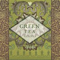 """Χαρτοπετσέτες ντεκουπάζ """"Green Tea"""""""