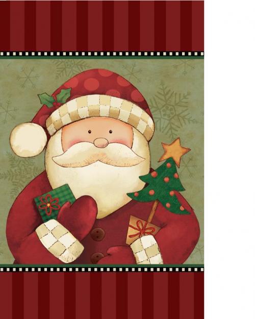 Τραπεζομάντηλο πλαστικό 137x259εκ. Cozy Santa 1τεμ.