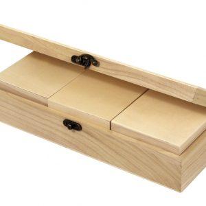 Ξύλινο κουτί 4τεμ.