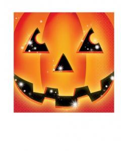 Χαρτοπετσέτες φαγητού 33x33εκ. Perfect Pumpkin Halloween 16τεμ.