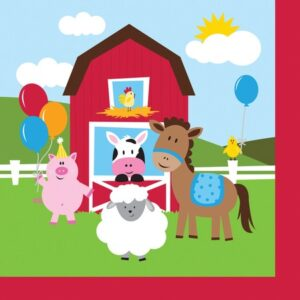 Χαρτοπετσέτες Φαγητού Farmhouse Fun 18τεμ