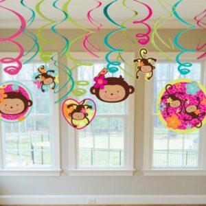 Διακοσμητικό οροφής Monkey Love