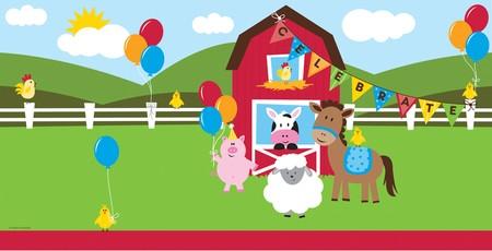 Πλαστικό Τραπεζομάντηλο  Farmhouse Fun 1τεμ