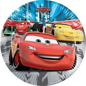 Πιάτα φαγητού CARS RED DISNEY