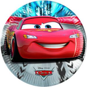 Πιάτα γλυκού CARS RED DISNEY