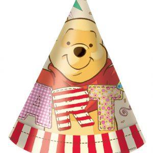 Καπέλα με κοπτικό Γουίνι γενέθλια