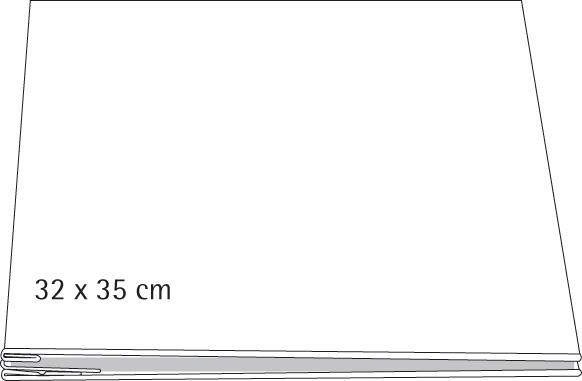 Άλμπουμ λευκό με βίδες 23x35εκ.