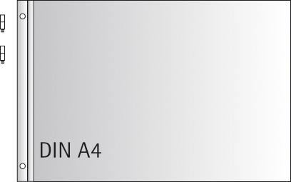 Σετ πλαστικά φύλλα Άλμπουμ Α4 με βίδες 10τεμ.