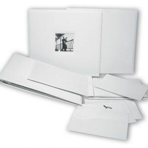 Άλμπουμ λευκό με βίδες 32x35εκ.