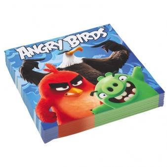 Χαρτοπετσέτες φαγητού Angry Birds Movie 20τεμ.