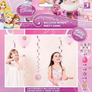 """Παιχνίδι πάρτυ Disney Princess """"Μπαλόνια-Ραβδάκια"""" για 8 παιδάκια"""