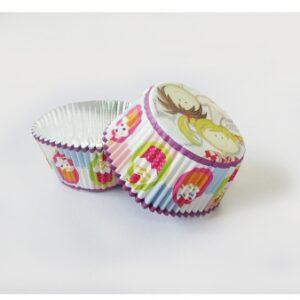 Θήκες για cupcakes Little Cooks 24τεμ.