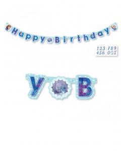 Γιρλάντα γράμματα Happy Birthday Frozen 1.8μ