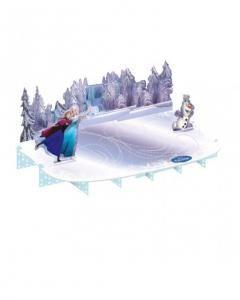Χάρτνη Βάση για τούρτα Frozen 50εκ. x 27εκ.