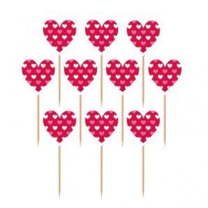Οδοντογλυφίδες Valentines Hearts 20τεμ.