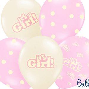 μπαλόνια για κορίτσι