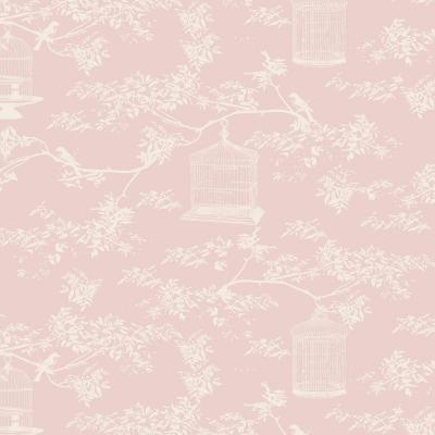 Tilda ύφασμα Birdcage Toi.Pink 50x55εκ.