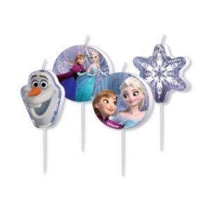 Κεράκια Frozen 4τεμ.
