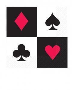 Χαρτοπετσέτες γλυκού 25εκ. Casino 20τεμ.