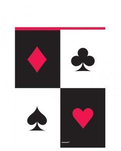 Τραπεζομάντηλο πλαστικό 137x243εκ. Casino 1τεμ.