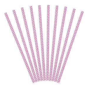 καλαμάκια ροζ