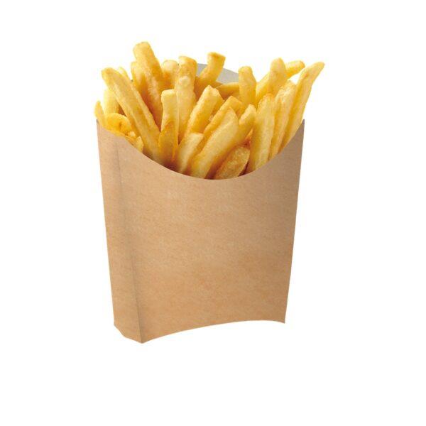 Chip Tray κραφτ για πατάτες 8τεμ.