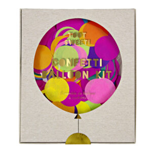 Toot sweet Confetti Balloon Kit 8τεμ.
