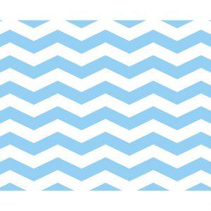 Σουπλά Γαλάζιο Cevron φαρδύ 42 χ 30εκ., 12τεμ.
