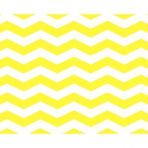 Σουπλά Κίτρινο Cevron φαρδύ 42 χ 30εκ., 12τεμ.