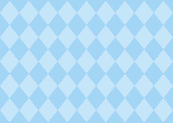 Σουπλά Γαλάζιο 2χρωμο Ρόμβος 42 χ 30εκ., 12τεμ.