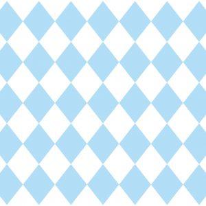 Σουπλά Γαλάζιο Ρόμβος 42 χ 30εκ., 12τεμ.