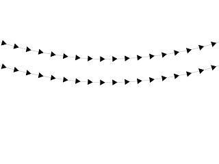 γιρλάντα τρίγωνα