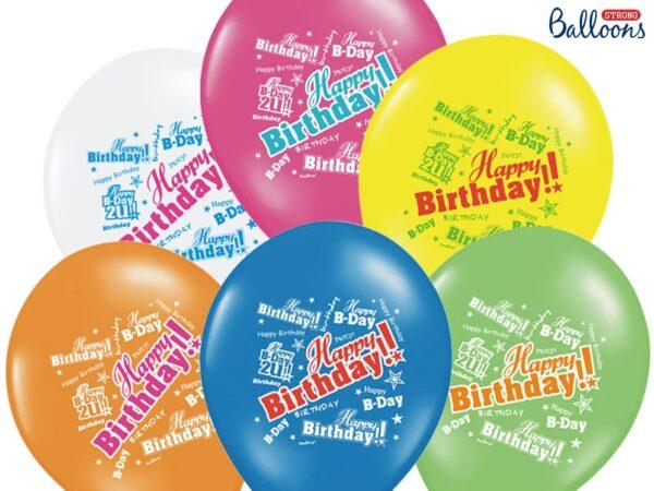 happy birthday μπαλόνια