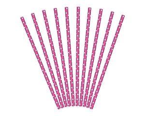 ροζ καλαμάκια